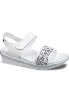 Ceyo Kadın Sandalet Beyaz 9941-3