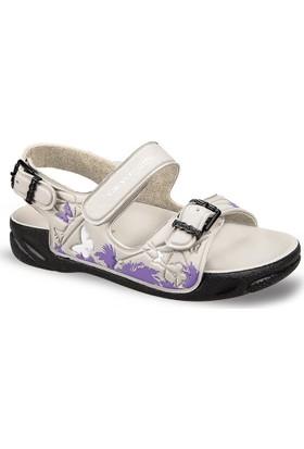 Ceyo Kız Çocuk Sandalet Bej Capri-15