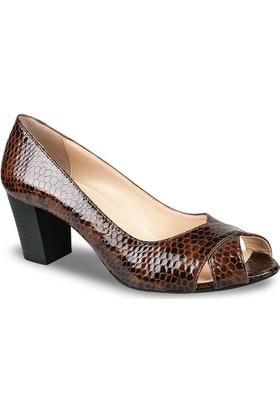 Ceyo Kadın Ayakkabı Taba 111