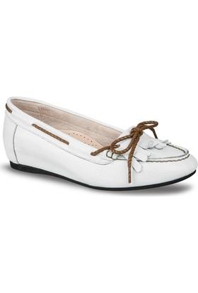 Ceyo Kadın Ayakkabı Beyaz 430