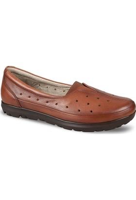 Ceyo Kadın Ayakkabı Taba 4202