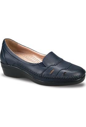 Ceyo Kadın Ayakkabı Lacivert 9920-12