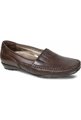 Ceyo Kadın Ayakkabı Kahverengi 9921-8