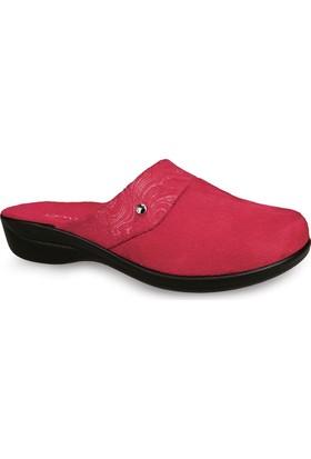 Ceyo Kadın Terlik Kırmızı 9838-17