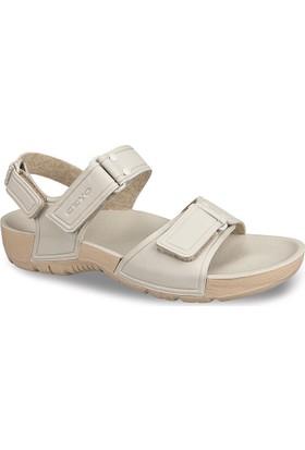Ceyo Kadın Sandalet Bej 9828-4