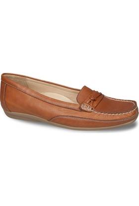 Ceyo Kadın Ayakkabı Taba 9858-6