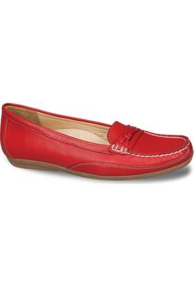 Ceyo Kadın Ayakkabı Kırmızı 9858-6