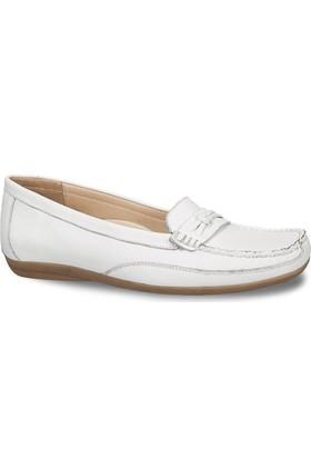 Ceyo Kadın Ayakkabı Beyaz 9858-6
