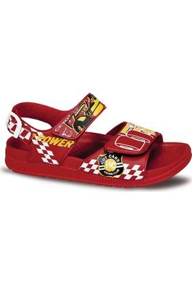 Ceyo Erkek Çocuk Sandalet Kırmızı 9928-4