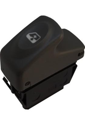 Bross BDP855 Renault Megane Scenic 1 Clio 2 İçin 6-Pin Cam Düğmesi 7700421119