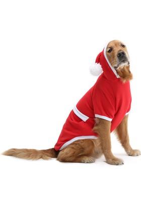 Dogi & Dog Büyük Irk Noel Baba Köpek Kiyafeti-Köpek Elbisesi-