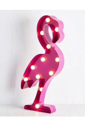 Designer Land Flamingo Led Dekoratif Aydınlatma Duvar Lambası