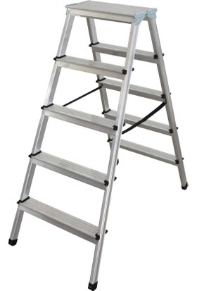 Erol TeknikAlüminyum Çift Çıkışlı 5 Basamaklı Merdiven