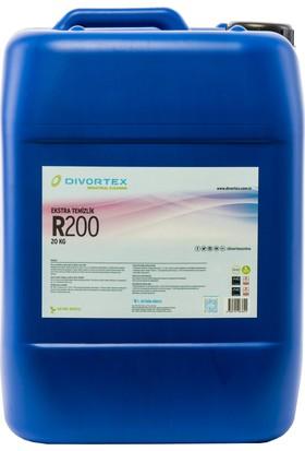 Divortex Sert Zemin Ağır Yağ, Kir Temizleme Manuel Kullanım 25 kg