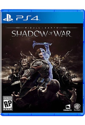 Middle Earth Shadow Of War PS4 Oyun