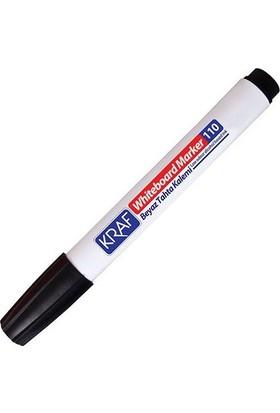 Kraf 110 White Board Marker Siyah