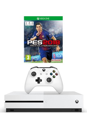 Microsoft Xbox One S 500 Gb + Pes 2018