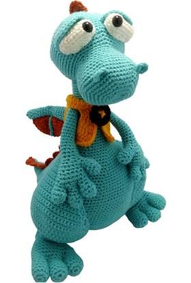 Knitting Toy El Örgüsü Sevimli Ejderha