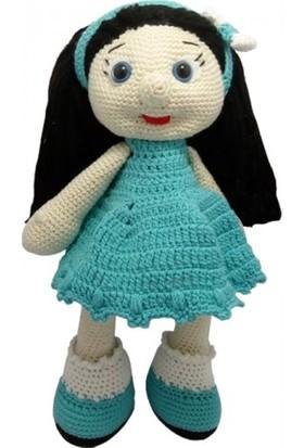 Knitting Toy Cici Kız Organik Oyuncak