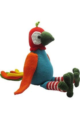 Knitting Toy El Örgüsü - Amigurumi Oyuncak Sevimli Papağan