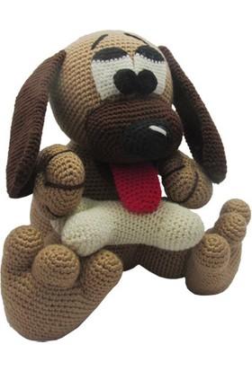 Knitting Toy Sevimli Köpek El Örgüsü - Amigurumi Oyuncak
