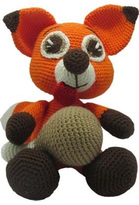 Knitting Toy Sevimli Tilki El Yapımı - Amigurumi Oyuncak