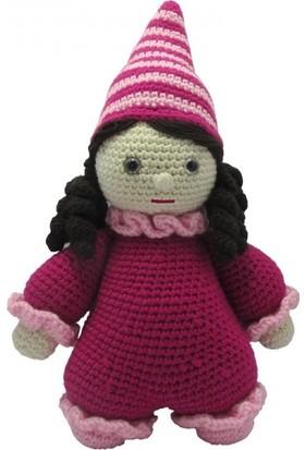 Knitting Toy Sevimli Uyku Arkadaşı El Örgüsü Oyuncak