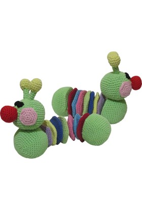 Knitting Toy El Örgüsü - Amigurumi Oyuncak Tırtıl
