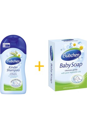 Bübchen Bebek Banyo Seti - Şampuan ve Sabun