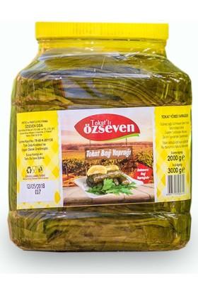 Özseven Tokat Asma Üzüm Yaprağı (Tevek) 2000 gr Net