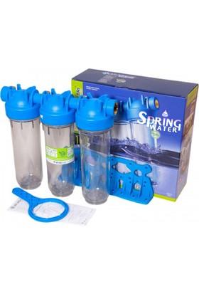 Spring Water 10 İnch Üçlü Filtre Kabı