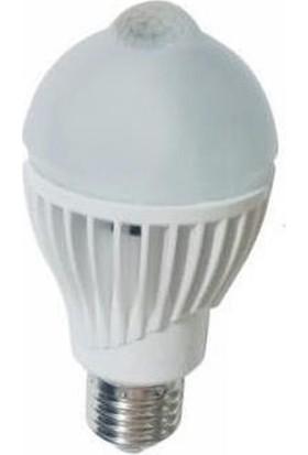 Forlife Fl-6045 7 Watt Hareket Sensörlü Led Ampul 6500K Beyaz Işık