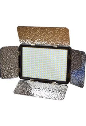 Hobimtek Profesyonel Kamera Video Işığı Tepe Lambası 396 Led