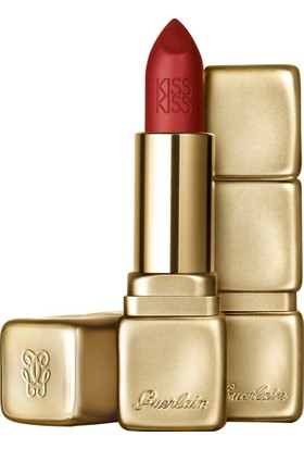 Guerlain Kiss Kiss Matte Ruj - M331 Chilli Red