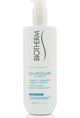 Biotherm Biosource Micellaire Cleanser + Makeup Remover 400ml