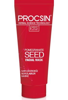 Procsin Nar Çiçeği Maske Kırmızı