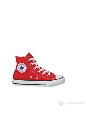 Converse 3J232 Chuck-Taylor-As-Core Red HI Çocuk Spor Ayakkabı