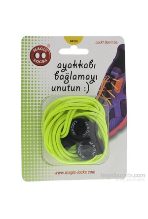 Magic Lock Elastik 15A2 Bağcık