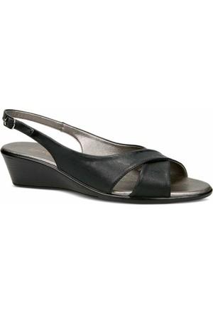 Ceyo Kadın Sandalet Siyah 9887-2