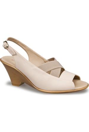 Ceyo Kadın Sandalet Bej 9868-21