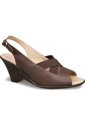 Ceyo Kadın Sandalet Kahverengi 9868-21