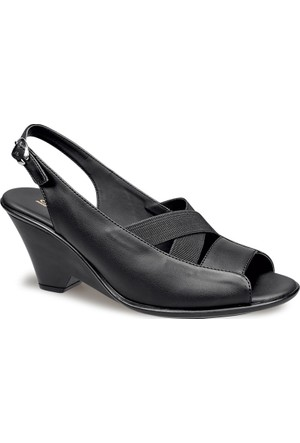 Ceyo Kadın Sandalet Siyah 9868-21