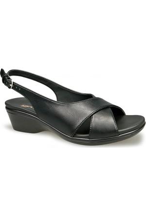 Ceyo Kadın Sandalet Siyah 9922
