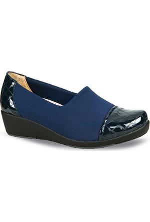 Ceyo Kadın Ayakkabı Lacivert 9924-7