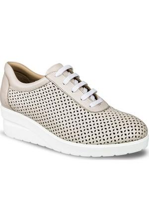 Ceyo Kadın Ayakkabı Bej 6159
