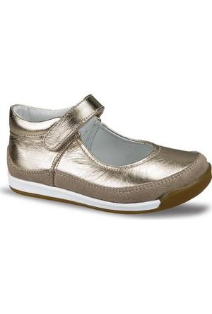Ceyo Kız Çocuk Ayakkabı Altın 3474-2