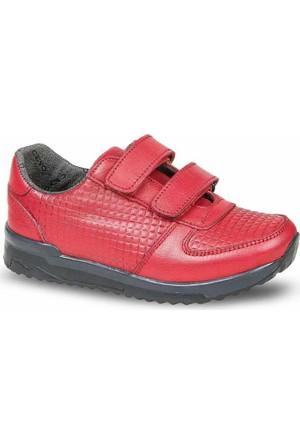 Ceyo Kız Çocuk Ayakkabı Kırmızı 210-3