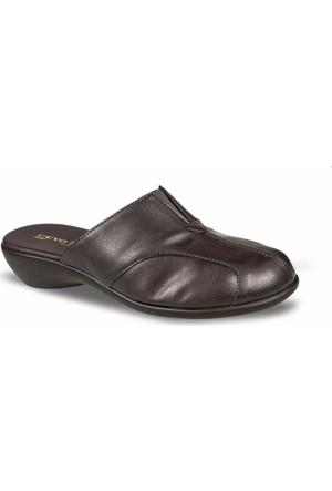 Ceyo Kadın Terlik Kahverengi 9600-25