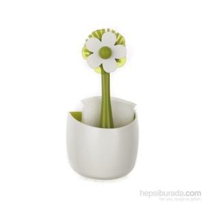 vıgar flor 3 parça askılı fırça ve sünger seti