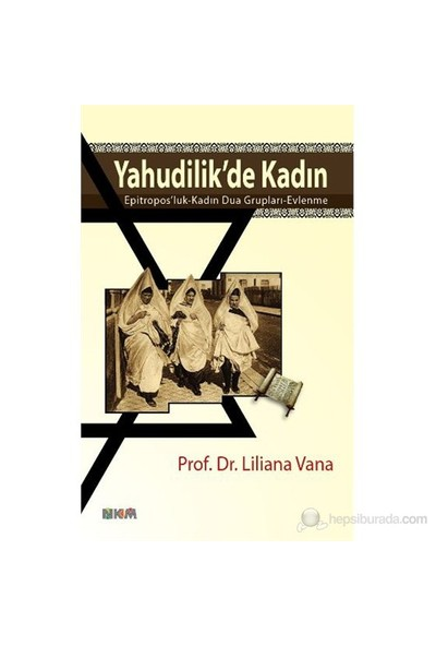 Yahudilik'De Kadin-Liliana Vana